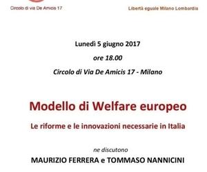 Modello di Welfare europeo. Le riforme necessarie in Italia