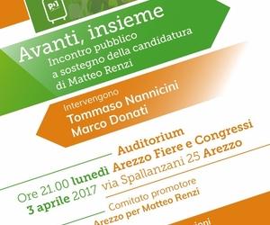 Arezzo per Matteo Renzi
