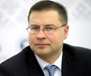 Incontro con Valdis Dombrovskis