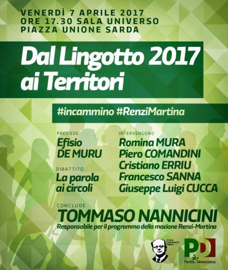 Dal Lingotto 2017 ai territori: la parola ai circoli