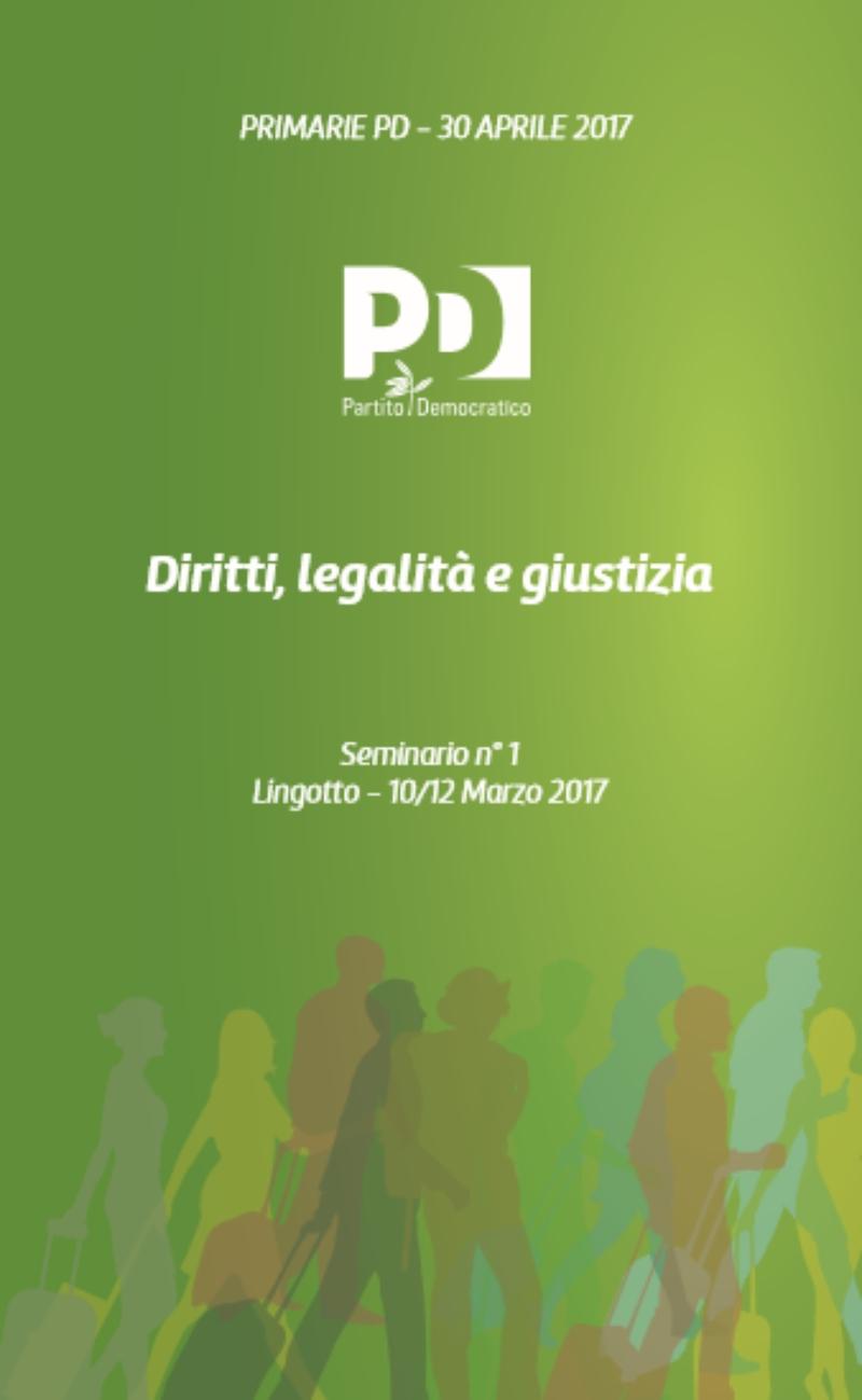 Diritti, legalità e giustizia