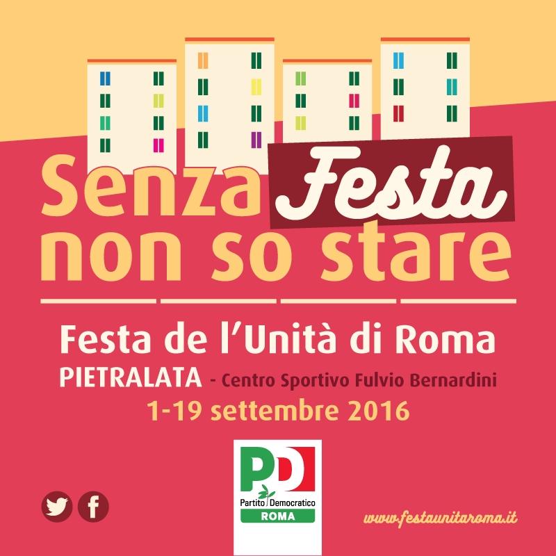 Festa nazionale Pd - Roma