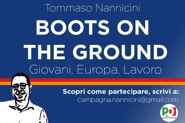 Boots on the ground. Giovani, Europa, Lavoro